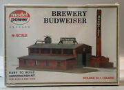 Sealed Model Power Kit Brewery 1509 N Scale Budweiser Brewery Nos Sealed
