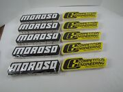 200 Nos Decals- 100 Moroso And 100 Competition Engineering Racing Decals Stickers