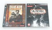 Silent Hill Homecoming And Downpour - Sony Playstation 3 Ps3 English