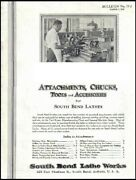 South Bend Lathe Manual No. 77-j - Attachments, Chucks Tools And Accessories 193