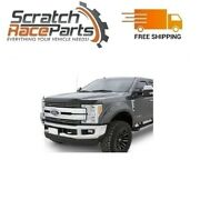 Bushwacker Fits Ford F-250 17-18 Pocket Style Oxford White Front And Rear Fender