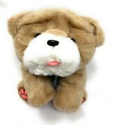 Rollie My Kissing Puppy Interactive Little Live Pets Wrinkle Bulldog Dog Works