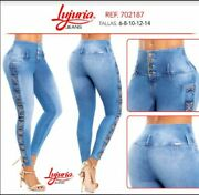 Lujuria Jeans Colombianos Colombian Push Up Jeans Levanta Cola Usa Size 3 Usa