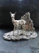 Bambi Sterling Silver Miniature Italian 1950 Fully Marked Great Quality