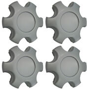 New Set Of 4 Replacement Blank Aftermarket Center Caps For 05-10 Tacoma 16 Rim