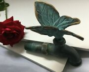Beautiful Garden Butterfly Faucet Made Of Brass Unique Touch For Garden
