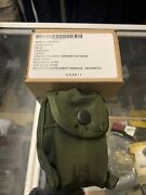 New Cammenga Model 3h Tritium Lensatic Compass Olive Drab Us Military Pouch