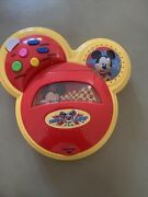 Disney Mickey Mouse Rev Up Record Player - 1 Cd -tested And Works