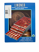 Lindner 2145 Coin Base Tray 2428 39 And 1 23/32in Coins With 45 Squares Loose
