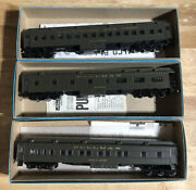 Athearn Bev-bel B And O Baltimore Ohio 3 Car Passenger Set Lot The Capitol Limited