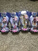 Lot Of 4 New Twisty Girlz Series 2 Ladygold Ebon E Chexie Ruby Spark Authentic