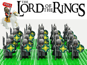 Lord Of The Rings Hobbit Rohan Kings Guard Axe Army 22 Minifigures Kids Toy Gift