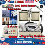 3 Axis Cnc 6040 Router Engraving Mill Wood 3d Machine Cutter + Controller 1500w