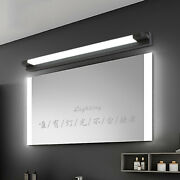 Modern 1 Linear Light Black Straight Acrylic Wall Fixtures For Dressing Table