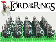 Lord Of The Rings Hobbit Rohan Royal Axe Army 22 Minifigures Kids Toys Xmas Gift
