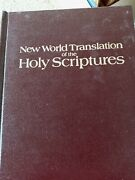 New World Translation Of The Holy Scriptures-world Tower Bible- Hardcover -1961