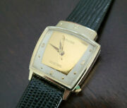 Vintage Hamilton Electric Everest Wrist Watch Nice Condition Keeping Time