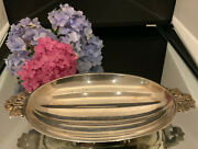 Sterling Footed Candy Dish - 7 1/2 X 5 1/4