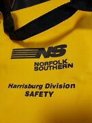 Norfolk Southern Harrisburg Division Safety Yellow And Black Gym Bagandnbsp