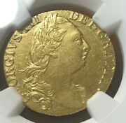 1783 Great Britain George Iii Gold Guinea Coin - Ngc Au55