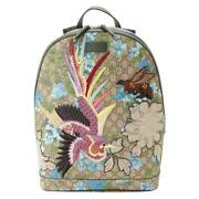 Gg Blooms Bird Embroidered Lease Backpack 419584 Secondhand Apprais _42253