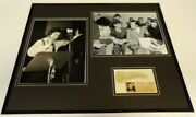 Orson Welles Signed Framed 16x20 War Of The Worlds Photo Display
