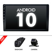 Cam+dvr+double 2din 10 Lcd Android 10 Car Stereo Radio Gps Navigator Wifi Touch