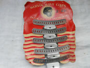 Vintage Mervin Wave Hair Clips New With Instructions Rare