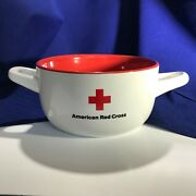 American Red Cross Coffee Cup Soup Bowl Disaster Relief Blood Drive