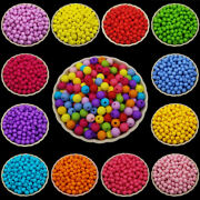 200 Pcs 6mm Spacer Acrylic Beads Bracelet Jewelry Making Diy Findings Charms