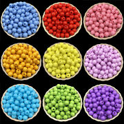 30pcs 12mm Round Acrylic Beads Loose Beads Diy Jewelry Findings Accessories