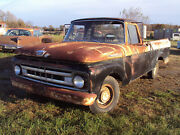 1961 Ford F-100 1961 Ford F100 Unibody Longbed Pickup