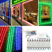 10-500ft 5050smd 3 Led Module Light Store Front Window Sign Lamp+remote+us Power