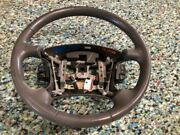 00-02 Nissan Quest Van Se Used If53-3600-baw Steering Wheel Assembly W Controls