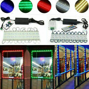 80and039ft 3 Led 5050 Smd Module Light Store Front Advertising Lamp+remote With Power
