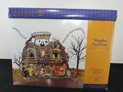 Dept 56 Haunted Fun House Halloween W/ Working Lights And Motion New In Box