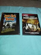 Jack The Ripper Dvd, 2001 Oop Dvd Rhino Dvd + New Diary Of The Dead Horror Lot