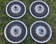 1968-69 Plymouth Barracuda And Valiant Wire Wheelcovers Hubcaps Set Of 4 Cuda