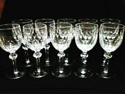 Lot Of 10 Waterford Crystal Replacement Curraghmore Water Goblets