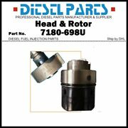 7180-698u Diesel Fuel Injection Dpa Pump Head And Rotor 4/9r For Perkins Engine
