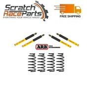 Arb Fits Land Cruiser 91-97 Old Man Front And Rear Emu Shocks + Coil Springs