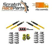 Arb For Land Cruiser Old Man Emu Front And Coil Springs +rear Shocks +caster Kit
