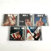 The Rocky Anthology 5 Dvd Set Includes Rocky 1, 2, 3, 4 And 5 I-v Boxing Read