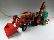 Rare Ford Vintage Tinplate 1841 Industry Tractor Battery-powered Remote Control