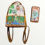 Loungefly Disney Pixar Toy Story 25th Anniversary Backpack And Wallet Set
