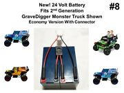 24v Economy Battery For The Power Wheels Grave Digger Plug And Play Version 8