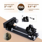 4-wheel Rotary Axis Attachment W Nema 23 Stepper Motor For Cylindrical Surface