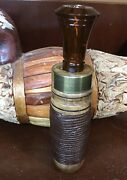 """""""the Crepe And Leather"""" Duck Call From Lone Cypress Calls"""