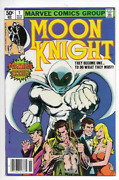 Moon Knight 1 Vol 1 Lot Of 4 Nm+ Extremely Rare Including 1 Newsstand Cgc