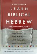 Learn Biblical Hebrew [with Cdrom] By Dobson, John H., Hardcover, Free Shipping